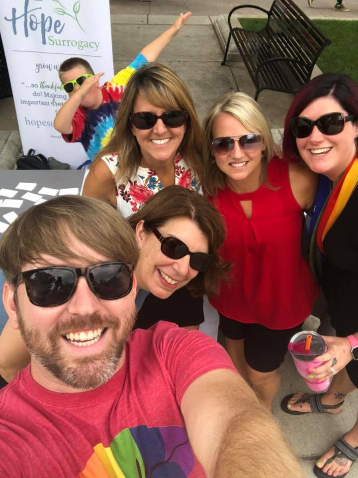 Hope Team And Surrogate Community At Pride Parade!