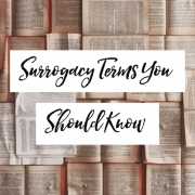 Surrogacy Terms You SHould know
